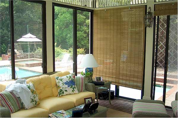 Bamboo deck shades
